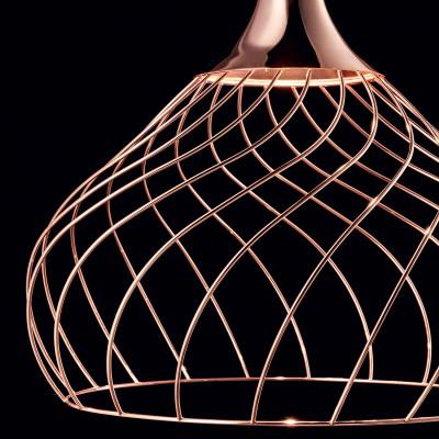 Ma&De - Mongolfier - Mongolfier P2 SP LED - Lampadario elegante a LED - Rame -  - Warm Tune - Diffusa