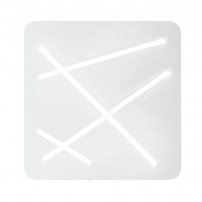 Ma&De - Next - Next - Plafoniera soffitto S - Bianco raggrizzante -  - Bianco caldo - 3000 K - Diffusa
