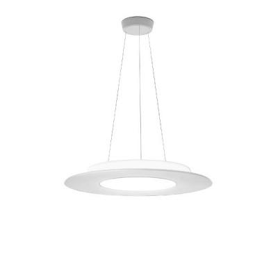 Ma&De - Square LED - Square PR SP LED M - Lampadario rotondo misura M - Bianco - LS-LL-8518 - Bianco caldo - 3000 K - Diffusa
