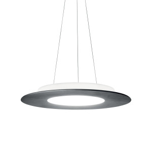 Ma&De - Square LED - Square PR SP S LED - Sospensione rotonda a biemissione di luce LED