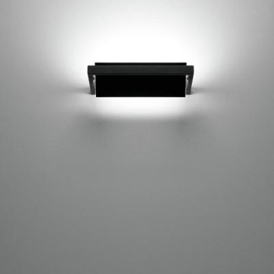 Ma&De - Tablet LED - Tablet LED - Applique a parete S - Nero - LS-LL-7608 - Bianco caldo - 3000 K - Diffusa