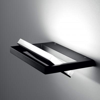 Ma&De - Tablet LED - Tablet LED - Applique parete M - Nero -  - Bianco caldo - 3000 K - Diffusa