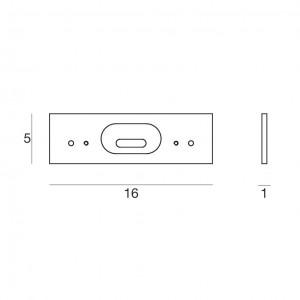 Ma&De - Tablet LED - Tablet Led - Staffa alluminio S