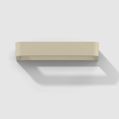 Rotaliana - Belvedere - Belvedere W1 AP - Applique a LED in stile moderno - Bronzo satinato -  - Bianco caldo - 3000 K - Diffusa