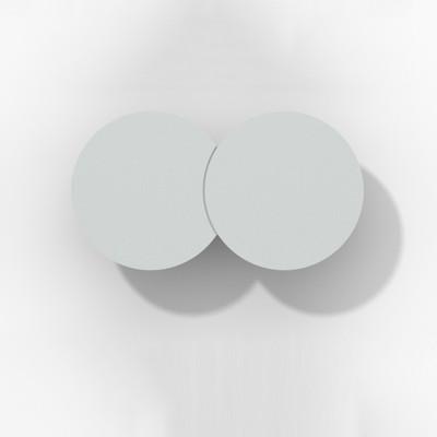 Rotaliana - Collide - Collide H1 AP LED - Applique moderna - Argento -  - Bianco caldo - 3000 K - Diffusa