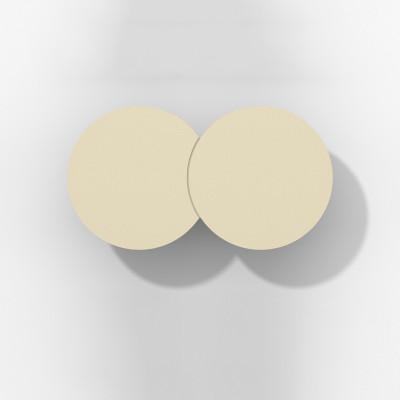 Rotaliana - Collide - Collide H1 AP LED - Applique moderna - Bronzo satinato -  - Bianco caldo - 3000 K - Diffusa