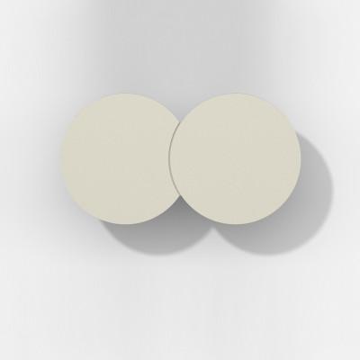 Rotaliana - Collide - Collide H1 AP LED - Applique moderna - Champagne -  - Bianco caldo - 3000 K - Diffusa