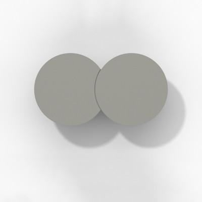 Rotaliana - Collide - Collide H1 AP LED - Applique moderna - Grafite -  - Bianco caldo - 3000 K - Diffusa