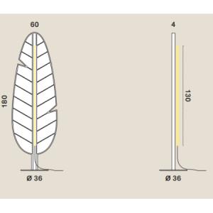 Rotaliana - Eden - Eden F1 Banana PT - Piantana fonoassorbente