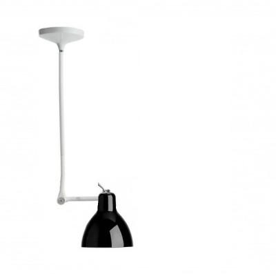 Rotaliana - Luxy - Luxy H1 - Lampadario con snodo - Bianco/Nero - LS-RO-1LXH100802ZR0