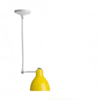 Rotaliana - Luxy - Luxy H1 - Lampadario con snodo - Giallo/Bianco - LS-RO-1LXH100502ZR0
