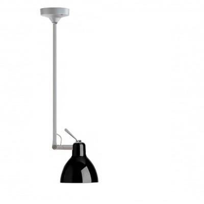 Rotaliana - Luxy - Luxy H1 - Lampadario con snodo - Nero / argento  - LS-RO-1LXH100843ZR0