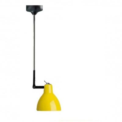 Rotaliana - Luxy - Luxy H1 - Lampadario con snodo - Nero/Giallo - LS-RO-1LXH100501ZR0