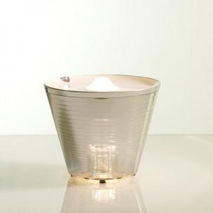 Rotaliana - MultiPot+ - MultiPot+ Cromo - Lampada LED di design