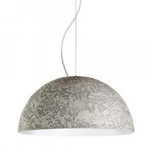 Snob - Cemento - Cemento SP M - Lampada a sospensione - Grigio Cemento - LS-WP-18023202