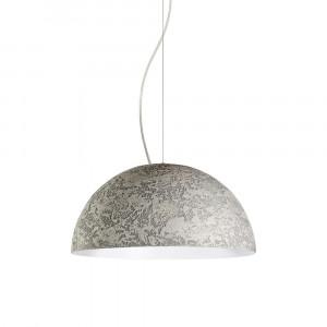 Snob - Cemento - Cemento SP S - Lampada a sospensione di design - Grigio Cemento - LS-WP-18010302