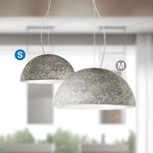 Snob - Cemento - Cemento SP S - Lampada a sospensione di design
