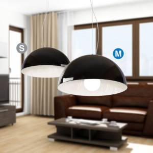 Snob - Stucco - Stucco SP M - Lampada a sospensione di design