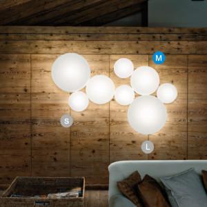 Studio Italia Design - MakeUp - MakeUp M LED AP PL - Applique e plafoniera di forma circolare