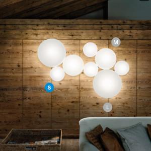 Studio Italia Design - MakeUp - MakeUp S LED AP PL - Applique e plafoniera di design rotonda