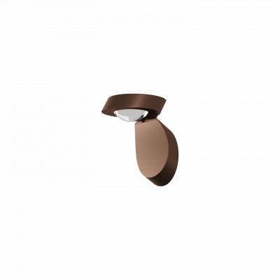 Studio Italia Design - Pin-Up - Pin-Up LED AP PL - Applique e plafoniera di design orientabile - Bronzo - LS-SID-155005 - Super Caldo - 2700 K - Diffusa
