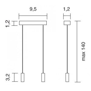 Traddel - Accessori Traddel - Kit sospensione lampada Millennium