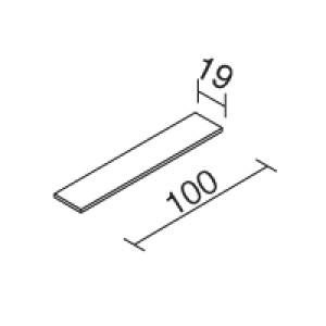 Traddel - Accessori Traddel - Kit spessori per installazione su cartongesso