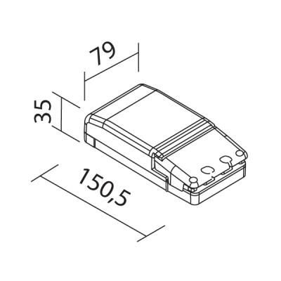 Traddel - Driver - Alimentatore elettronico 35W