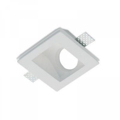 Traddel - Faretti a incasso per interni - Gypsum - Lampada incasso ottica asimmetrica - Gesso - LS-LL-61320