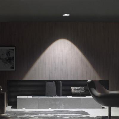Traddel - Faretti a incasso per interni - Gypsum - Lampada soffitto ottica tonda M