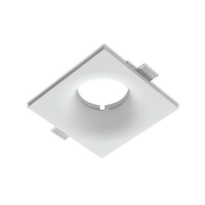 Traddel - Faretti a incasso per interni - Gypsum - Lampada soffitto ottica tonda M - Gesso - LS-LL-61370