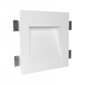 Traddel - Faretti a incasso per interni - Gypsum Wf4 FA LED - Faretto segnapasso in gesso a LED