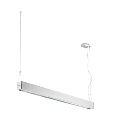 Traddel - Lampada a sospensione - Profil H - Biemissione dark-light - Alluminio anodizzato semiopaco - LS-SK-56065