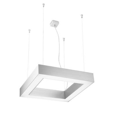 Traddel - Lampada a sospensione - Profil H - Sospensione quadrata - Alluminio anodizzato semiopaco - LS-SK-60295
