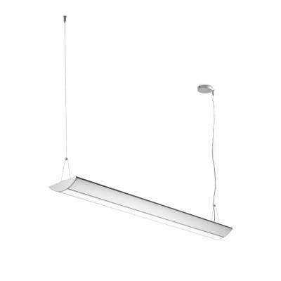 Traddel - Lampada a sospensione - Reverse Up - Lampada sospensione diffusore opale - Alluminio anodizzato semiopaco - LS-SK-56555