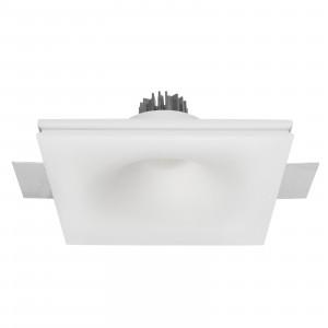 Traddel - Lampade a incasso a parete o soffitto - Gypsum Eye1 FA LED - Faretto in gesso da incasso a luce LED