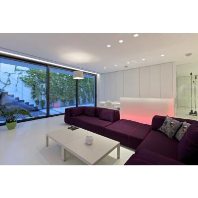 Traddel - Lampade a incasso a parete o soffitto - Gypsum - Lampada incasso quadrata