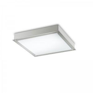 Traddel - Lampade a incasso a parete o soffitto - Millennium L - Plafoniera incasso quadrata
