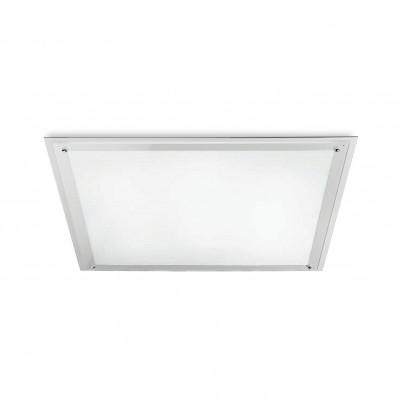 Traddel - Lampade a incasso a parete o soffitto - Millennium - Plafoniera quadrata 3 luci - Bianco RAL 9010 - LS-SK-52374