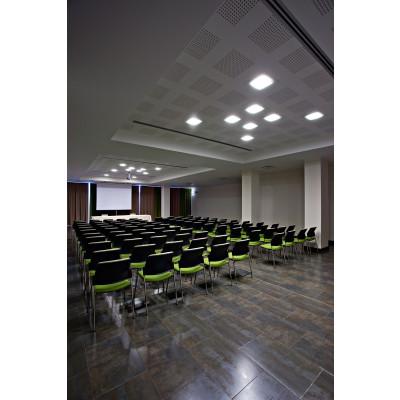 Traddel - Lampade a incasso a parete o soffitto - Oblò - Plafoniera da incasso diffusore vetro serigrafato