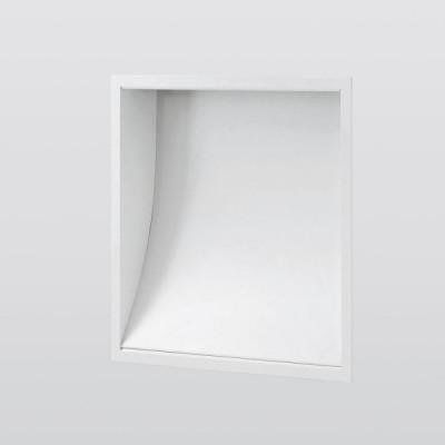 Traddel - Lampade a incasso a parete o soffitto - Wall XL - Lampada parete/soffitto - Grigio alluminio/Alluminio anodizzato semiopaco - LS-SK-50745