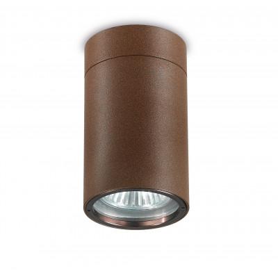Traddel - Lampade a parete o soffitto per esterni - Vision 2 - Faretto soffitto M - Corten - LS-LL-51496