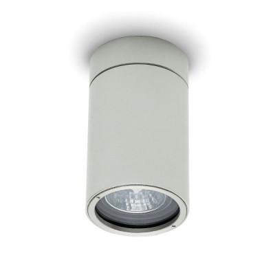 Traddel - Lampade a parete o soffitto per esterni - Vision 2 - Faretto soffitto M - Grigio alluminio - LS-LL-51495
