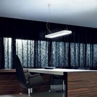 Traddel - Neox - Lampade illuminazione ufficio - Neox Led - Lampada a sospensione ufficio