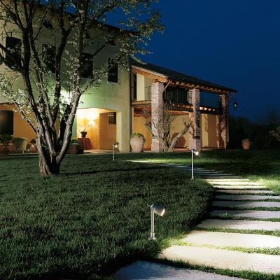 Traddel - Paletti luminosi da giardino - Vision 2 - Faretto orientabile pavimento