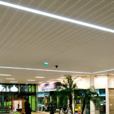 Traddel - Profil - Outline S - Incasso a soffitto/parete