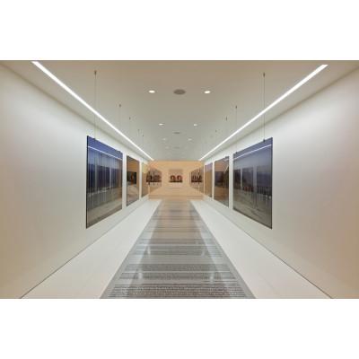 Traddel - Profilo incasso totale - Mini Outline LED - Curva 90° soffitto/soffitto sx