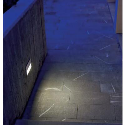 Traddel - Segnapasso per esterni - Insert - Lampada da parete ad incasso L