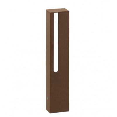 Traddel - Stick - Illuminazione per esterni - Stick 1 - Paletto led doppia emissione 354mm - Corten -  - Bianco caldo - 3000 K - Diffusa