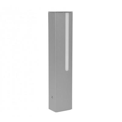 Traddel - Stick - Illuminazione per esterni - Stick 1 - Paletto led doppia emissione 354mm - Grigio zirconio -  - Bianco caldo - 3000 K - Diffusa